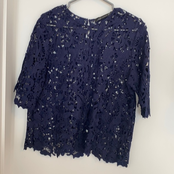 Zara Woman Embroidered Blouse size S